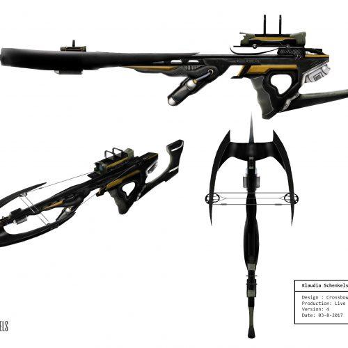 concept art crossbow Klaudia Schenkels website